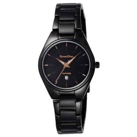 Roven Dino羅梵迪諾 輕鬆伴點日期腕錶-RD720B-358BG