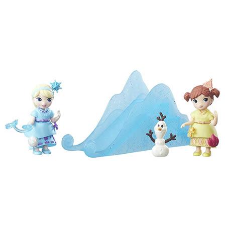 《Disney 迪士尼》冰雪奇緣迷你公主及情境組-小孩組