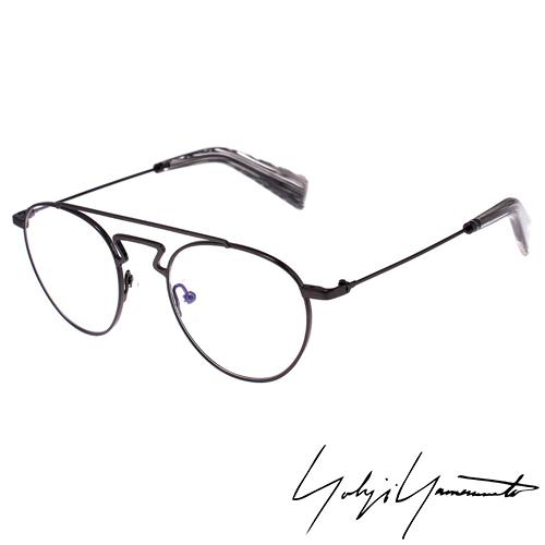 Yohji Yamamoto 山本耀司 復古圓框 光學眼鏡~鐵灰~YY3004~902