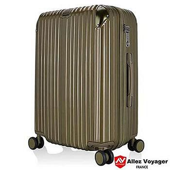 法國 奧莉薇閣 箱見恨晚PC28吋金屬護角耐撞擊-鈦金色 行李箱/旅行箱