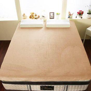 契斯特 12公分新法蘭絨舒適記憶床墊 雙人5尺-牛奶白