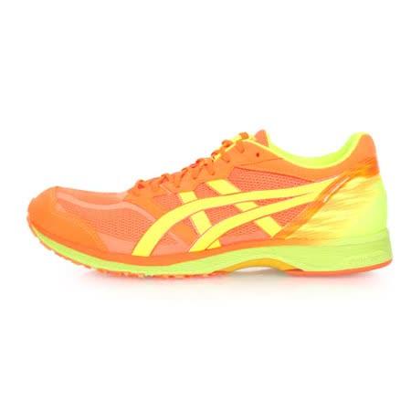 (男) ASICS TARTHERZEAL 5 虎走路跑鞋-慢跑 亞瑟士 亮橘黃