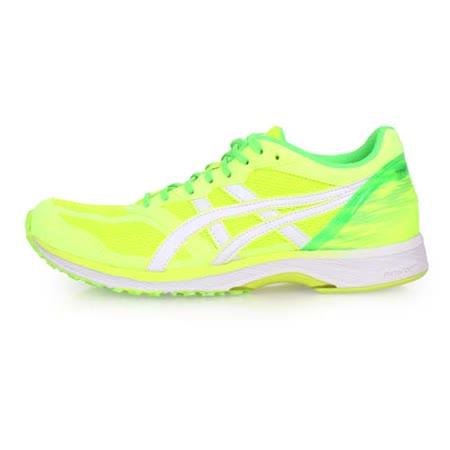 (女) ASICS TARTHERZEAL 5 虎走路跑鞋-慢跑 亞瑟士 螢光黃綠