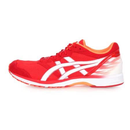 (男) ASICS TARTHERZEAL 5 虎走路跑鞋-慢跑 亞瑟士 紅白