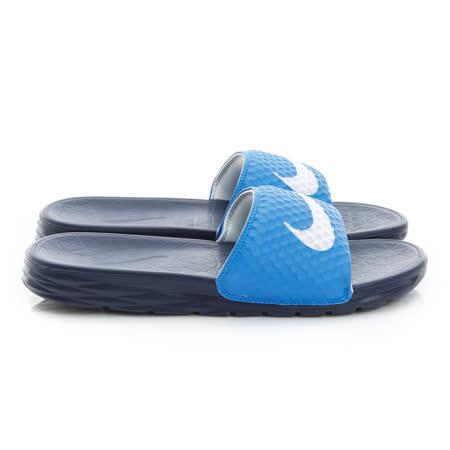 NIKE (男) 拖鞋 藍 705474402