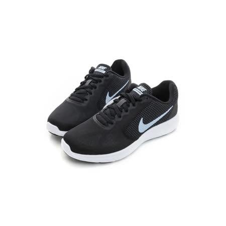 NIKE (女) 慢跑鞋 黑白 819303012