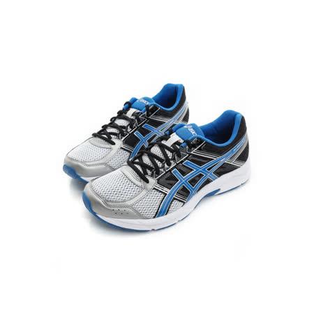 Asics (男) 慢跑鞋 黑藍 T716N9342