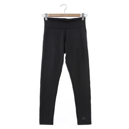 Adidas (女) 緊身長褲 黑 BQ2064