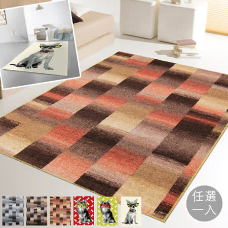 范登伯格 任選超值地毯