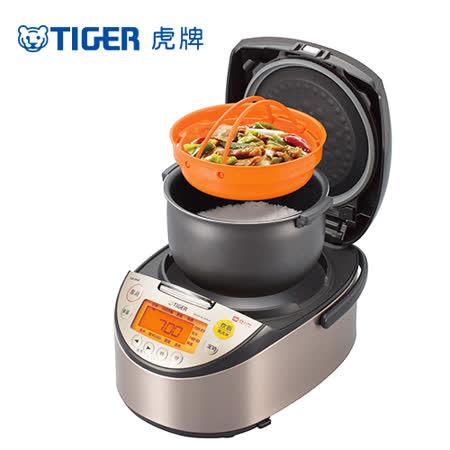 (日本製)TIGER虎牌10人份高火力IH多功能電子鍋(JKT-S18R)料理專用食譜