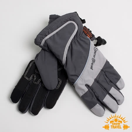 SNOWTRAVEL 英國SKI-DRI 防水透氣超薄型手套(可觸控)(灰色)