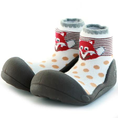 Attipas襪型學步鞋[真品平輸]-紅臉狐狸
