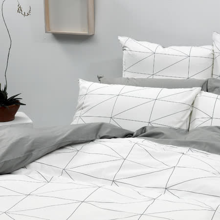 LITA麗塔【旅人】雙人床包被套枕套四件組