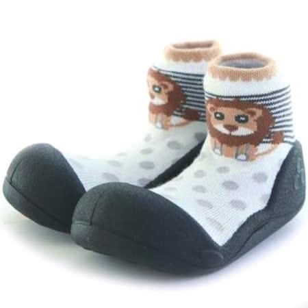 Attipas襪型學步鞋[真品平輸]-棕毛獅王