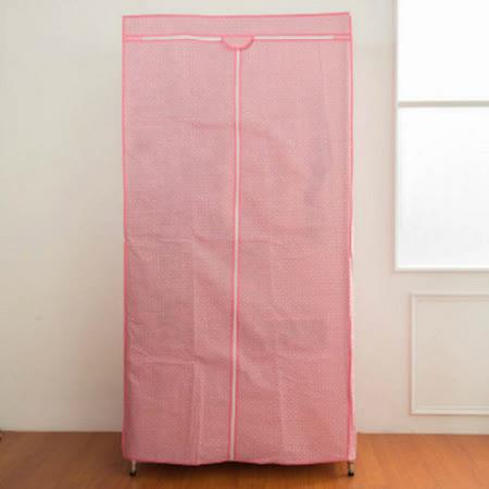 dayneeds 衣櫥專用防塵布套-粉(90*45*180cm)