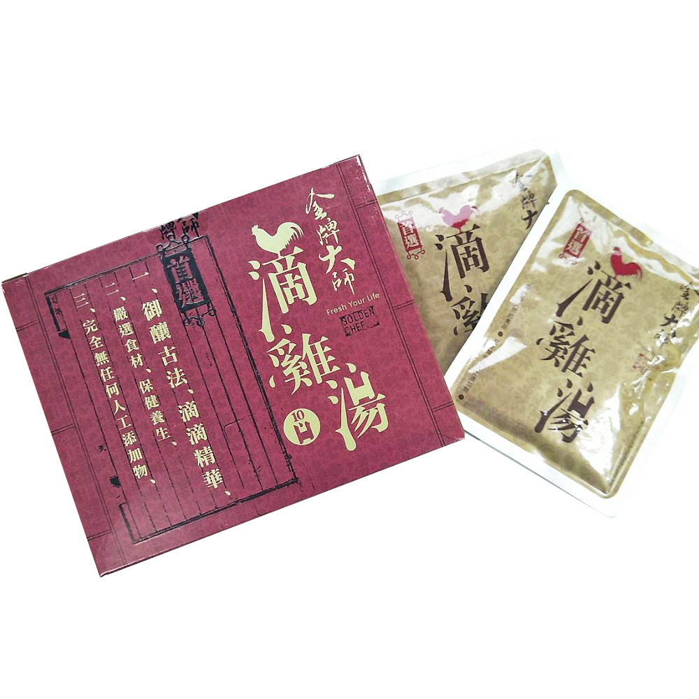 【金牌大師 - 滴雞精】4盒(每盒/10包)