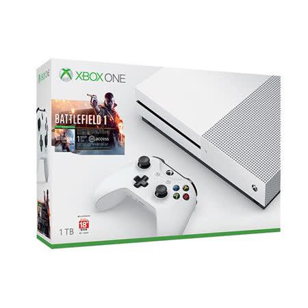 Xbox One S 1TB戰地風雲1同捆組