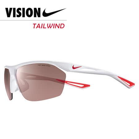 NIKE TAILWIND 競速運動太陽眼鏡 白/紅