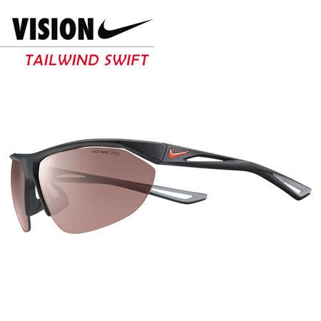 NIKE TAILWIND SWIFT 競速運動太陽眼鏡 黑/灰