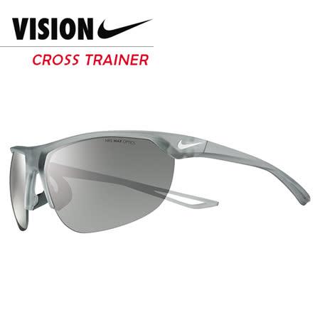 NIKE CROSS TRAINER 競速運動太陽眼鏡 EV0937 灰