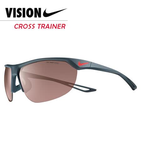 NIKE CROSS TRAINER 競速運動太陽眼鏡 EV0938 黑