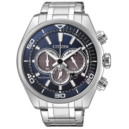 CITIZEN Eco-Drive 榮耀重返時尚腕錶-CA4330-81L