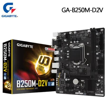 GIGABYTE技嘉 GA-B250M-D2V 主機板