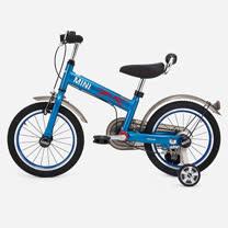 英國Mini Cooper 兒童腳踏車16吋-激光藍