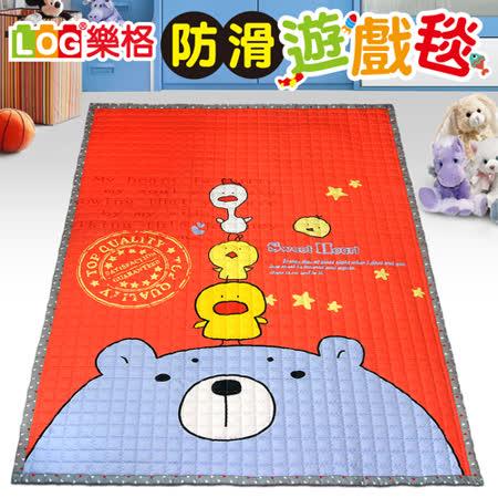 【LOG樂格】防滑遊戲毯 -北極熊的迷思 (200x150cmx厚1.5cm) 爬行墊/野餐墊/止滑墊/保潔墊