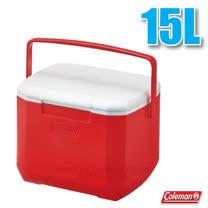 【美國 Coleman】EXCURSION 美利紅冰箱 15L.高效能行動冰箱.保冷保冰箱.冰筒.冰桶.置物箱.保鮮桶/CM-27860