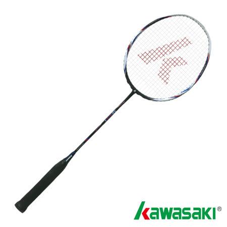 【KAWASAKI】KBD816高鋼性碳纖維羽球拍(消光黑/紅)
