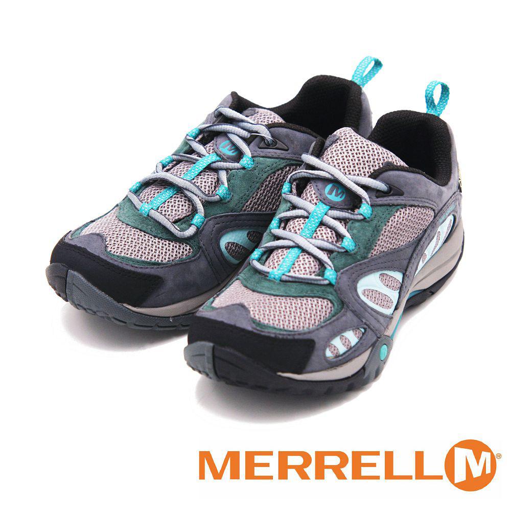 MERRELL AZURA GORE-TEX 登山健行多功能鞋 女鞋-灰(另有紫褐/粉卡其)