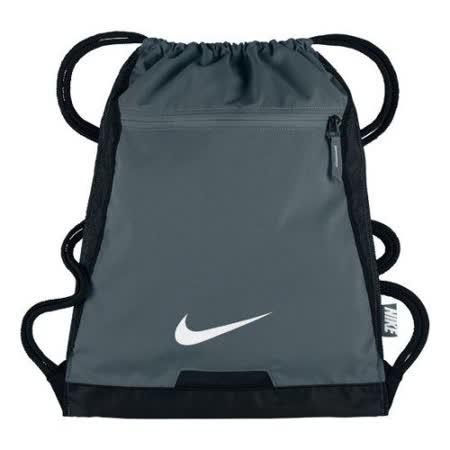 【Nike】2017時尚阿爾法Alpha健身深灰色束口後背包【預購】