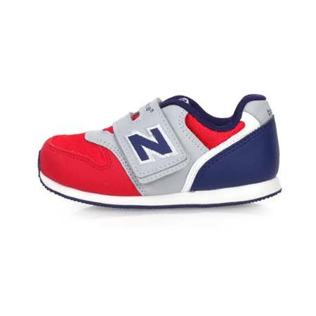 (童) NEWBALANCE 996系列 男女兒復古慢跑鞋-魔鬼氈 NB N字鞋 紅藍灰
