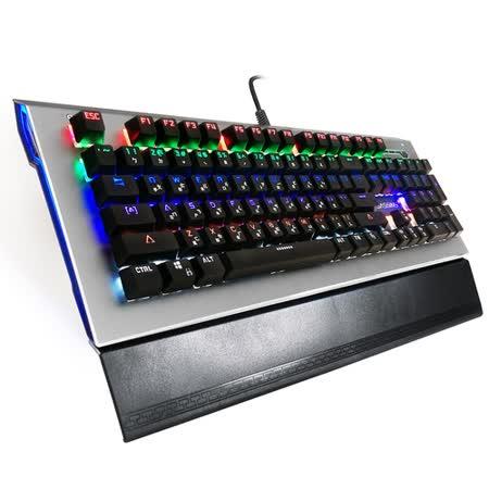 黑客 闇黑魔鍵 GK6 背光機械式電競鍵盤(青軸)