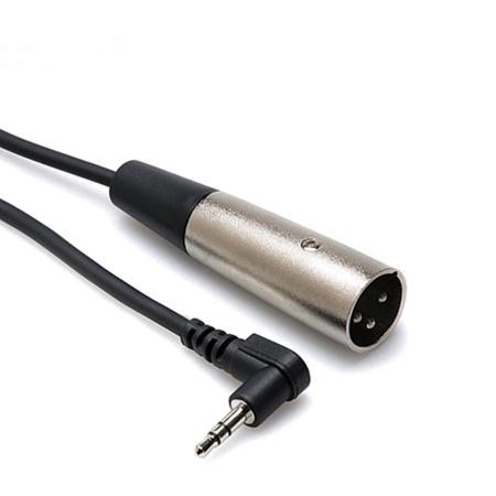 美國HOSA TECHNOLOGY L型3.5MM TRS立體聲轉 LR3M麥克風音訊線 XVM-105M