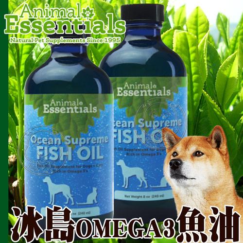 藥草醫家》天然療癒寵物保健 冰島Omega3魚油-120ml