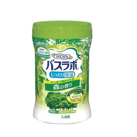 (任選)日本白元HERS香氛入浴劑(泡湯)680g - 清新森林
