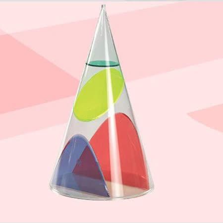 【智高 GIGO】圓錐切面模型(圓形,橢圓,雙曲,拋物) #1038D