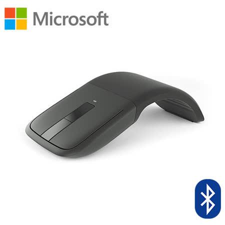 微軟 Microsoft Arc Touch Bluetooth 滑鼠 黑色-送5200行動電源(額定容量2600mAh)