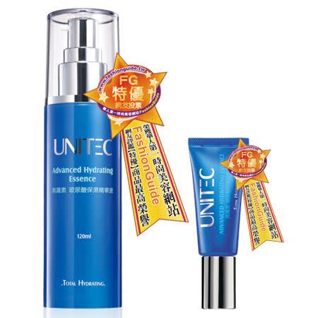 【買大送小】UNITEC彤妍 燕窩素玻尿酸保濕精華液120ml(即期品)