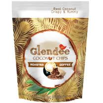 Glendee椰子脆片40g(咖啡口味)