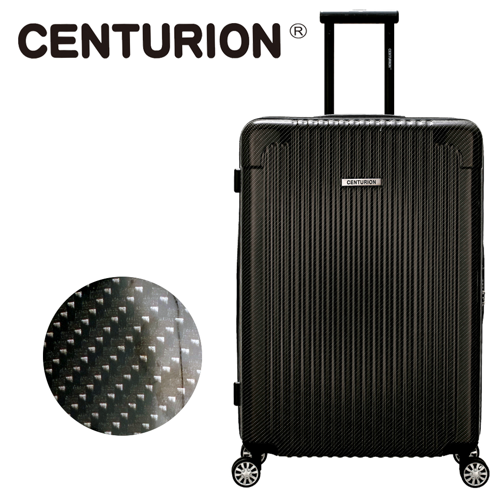 【CENTURION】美國百夫長29吋行李箱-奧蘭多黑MCO(拉鍊箱/空姐箱)