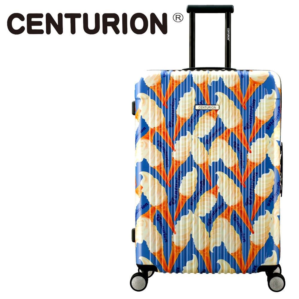 【CENTURION】美國百夫長29吋行李箱-冰淇淋C40(拉鍊箱/空姐箱)
