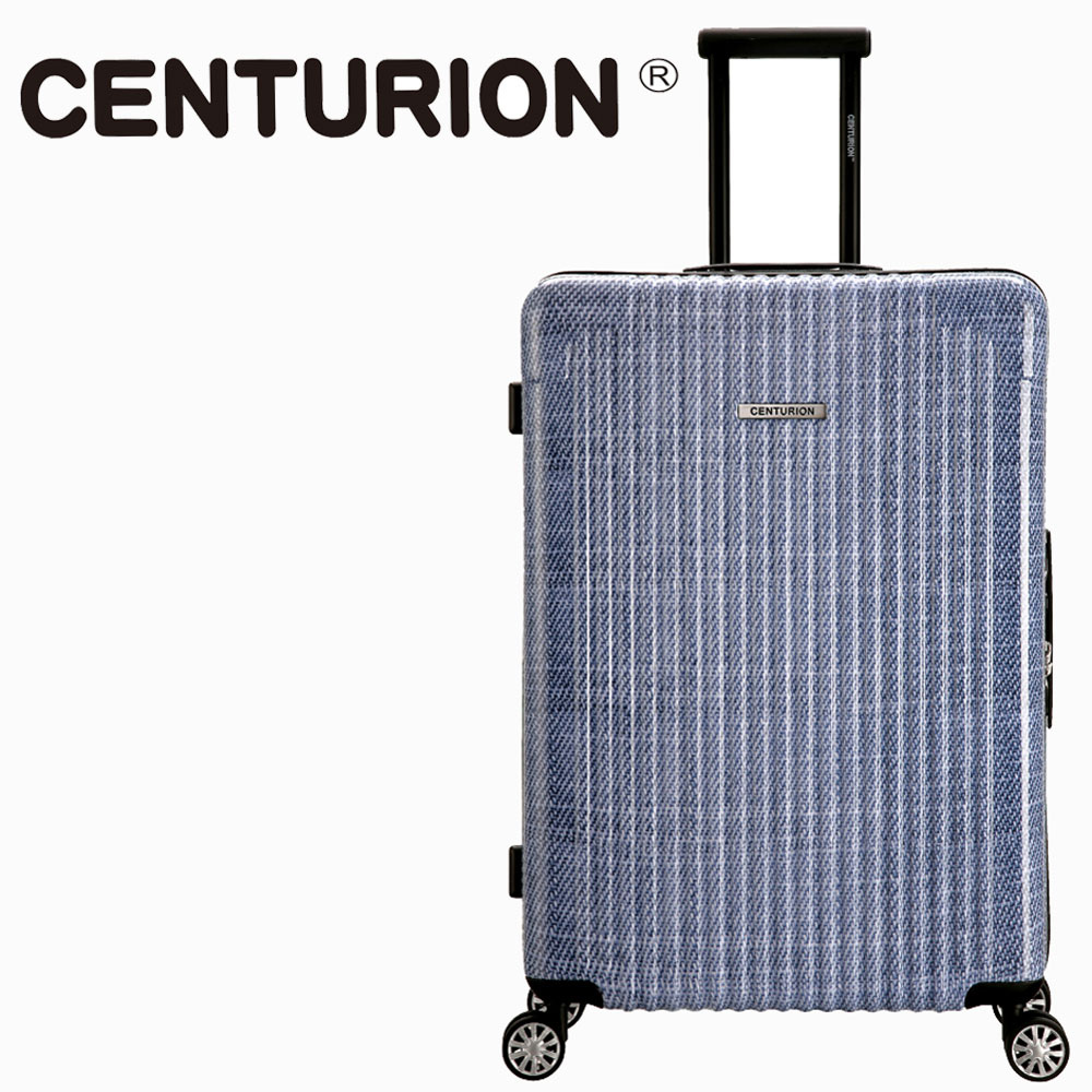 【CENTURION】美國百夫長29吋行李箱-小布希P43(拉鍊箱/空姐箱)
