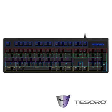TESORO鐵修羅 克力博劍幻彩機械式鍵盤-光軸中文