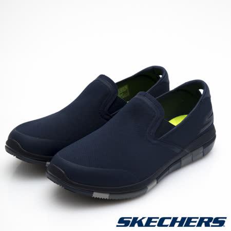 SKECHERS (男) 健走系列 GO Flex - 54010NVGY