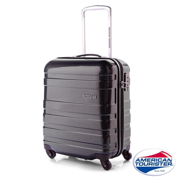 AT美國旅行者 18吋Mv HS 硬殼四輪TSA登機箱^(霧黑^) 31T^~59001