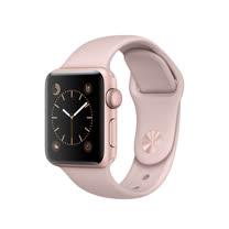 Apple Watch Series 2 智慧型手錶 (38mm) /A  38公釐 玫瑰金色鋁金屬錶殼 搭配粉沙色運動型錶帶 (MNNY2 TA/A)