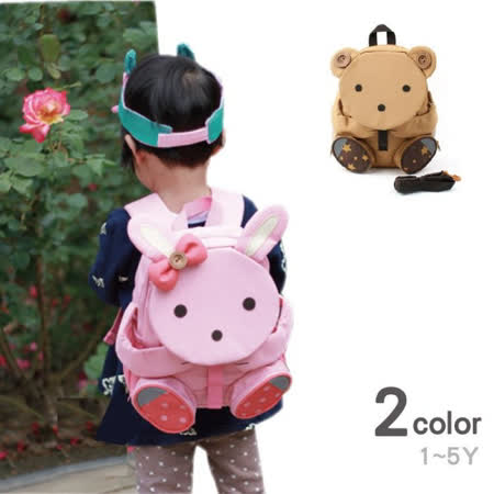 韓國 動物大頭 防走失包 童包  兒童背包   書包 造型包 LB0022